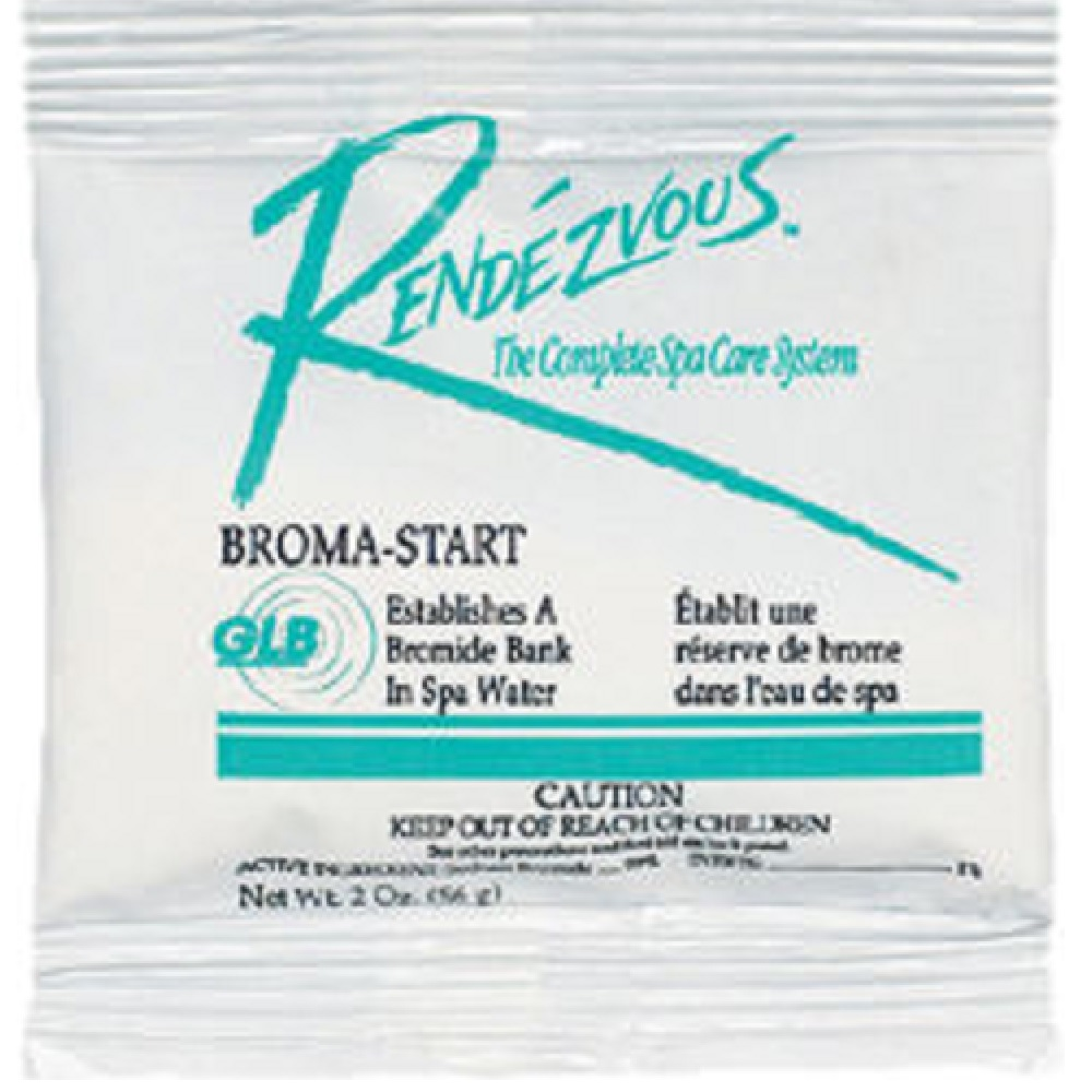 Broma-Start Bromine Base 2 oz Pouch