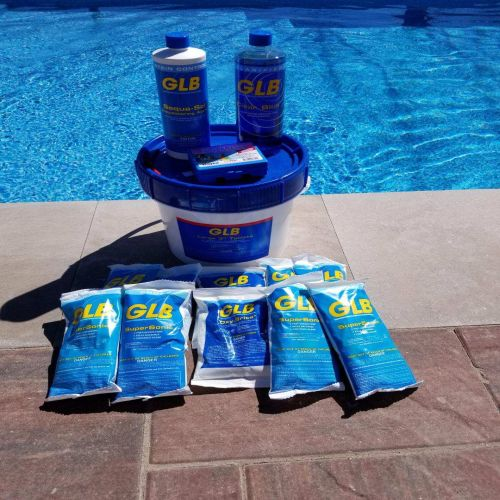 Small Pool Seasonal Chemical Kit with Nature 2