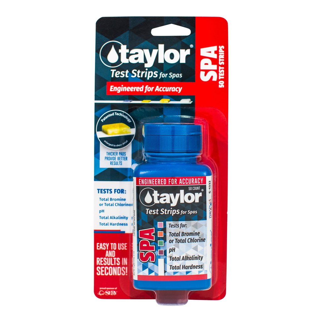 Taylor Spa Test Strips 50 count