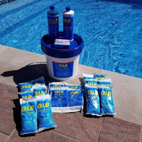 Large Pool Seasonal Chemical Kit with Nature 2