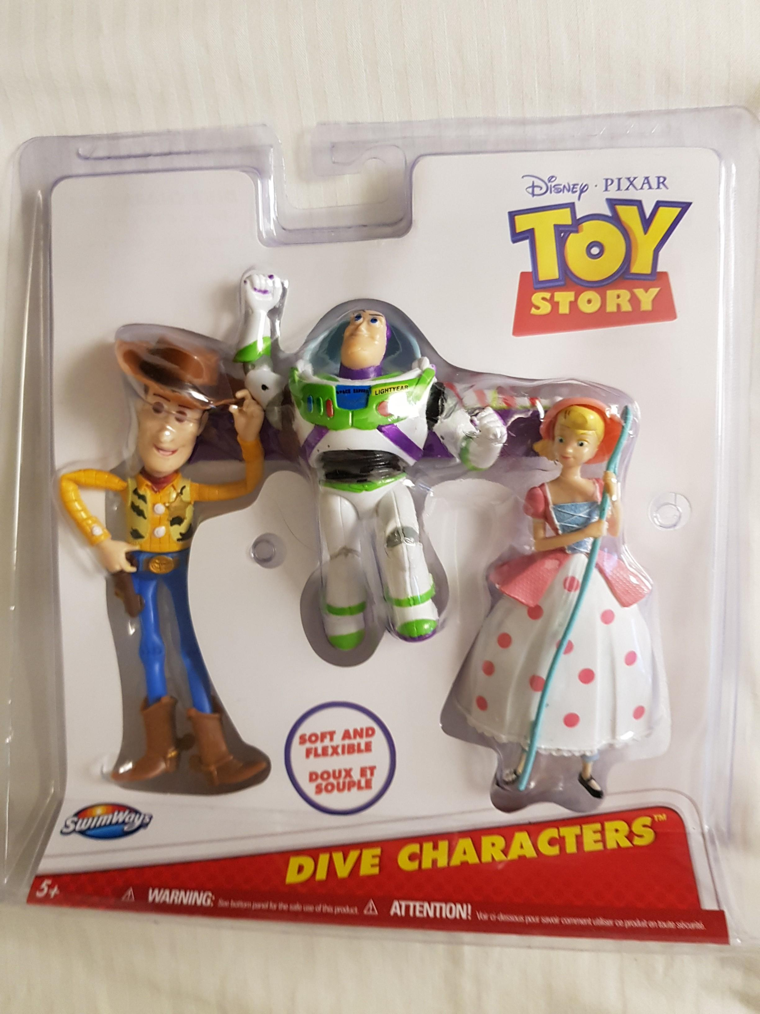 Toy Story 4 Diving Characters (set of 3)
