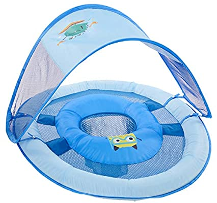 Baby Spring Float Sun Canopy- Blue
