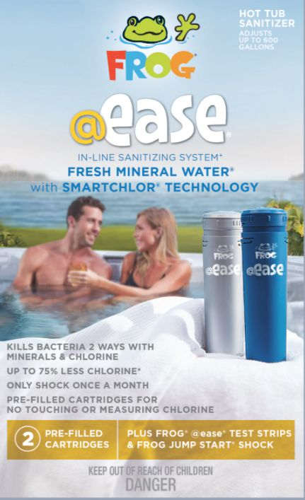 @Ease Inline Chlorine-Mineral Start Pack
